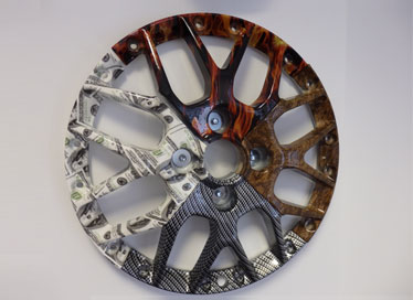 Hydro Coated Alloy Wheel