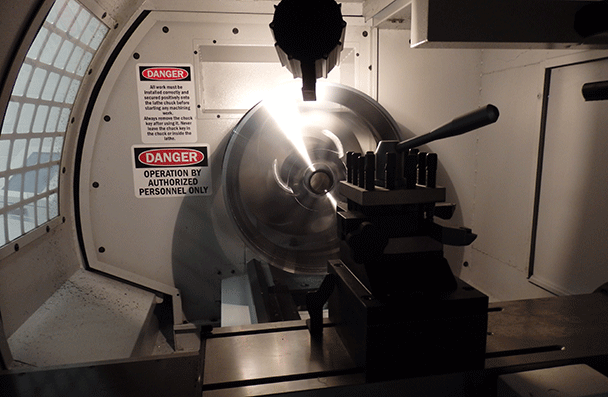 Alloy wheel machining repair